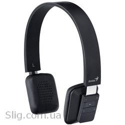 Гарнитура Genius HS-920BT Black (31710065102) (102 дБ,  20 - 20 000 Гц,  32 Ом,  Bluetooth,  безпроводные до 10 м,  черный,  микрофон)