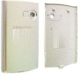 Задняя крышка Samsung D780 Duos черная, серебро