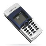 Корпус для Sony Ericsson T310 Silver-Blue